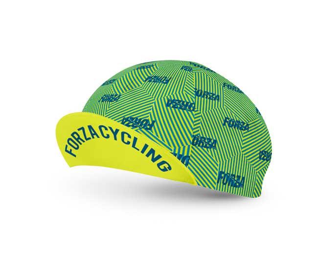 Gorra de Ciclismo para Hombre Hexastripes - Forza Fit Wear Ropa ... 455f0681e64