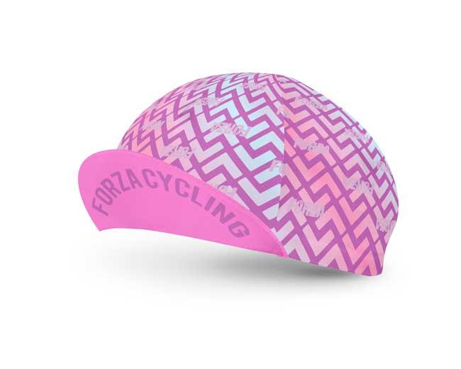 Gorra de Ciclismo para Dama Triángulos - Forza Fit Wear Ropa Deportiva da85e51b1be