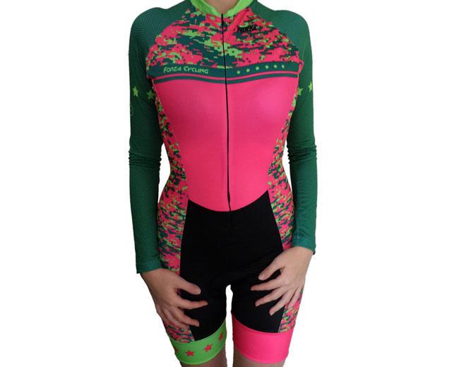 85a5a3f5be2 Enterizo ciclismo manga larga mujer Milipix - Forza Fit Wear Ropa ...