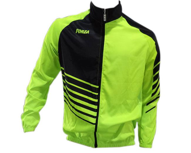 Chaqueta cortavientos ciclismo para hombre Neon Stripes - Forza Fit ... 8e9a7338a0b
