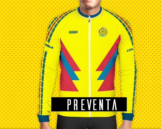 Camiseta de Ciclismo Hombre manga larga Colombia recreativa - Forza ... ff74ab9f5cc